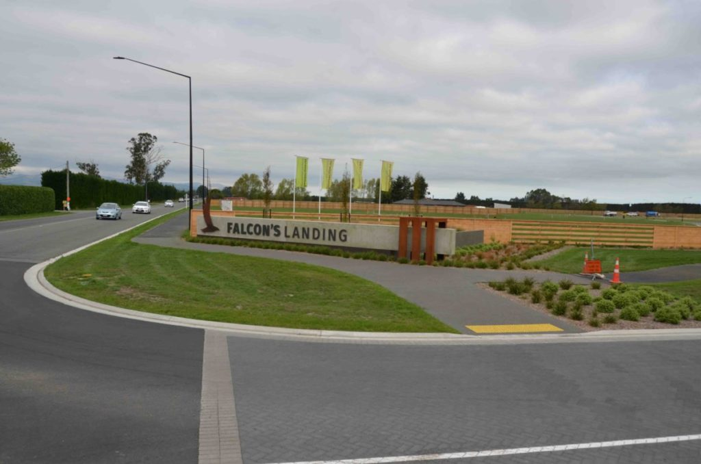 Falcon's Landing is one of our latest commercial irrigation projects in Rolleston, Selwyn, Canterbury.