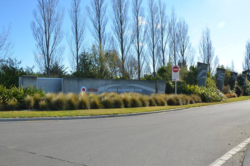 Izone Business Park Irrigation in Rolleston, Selwyn.